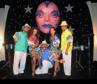 Hilton Corporate Function Stage - Latino Band