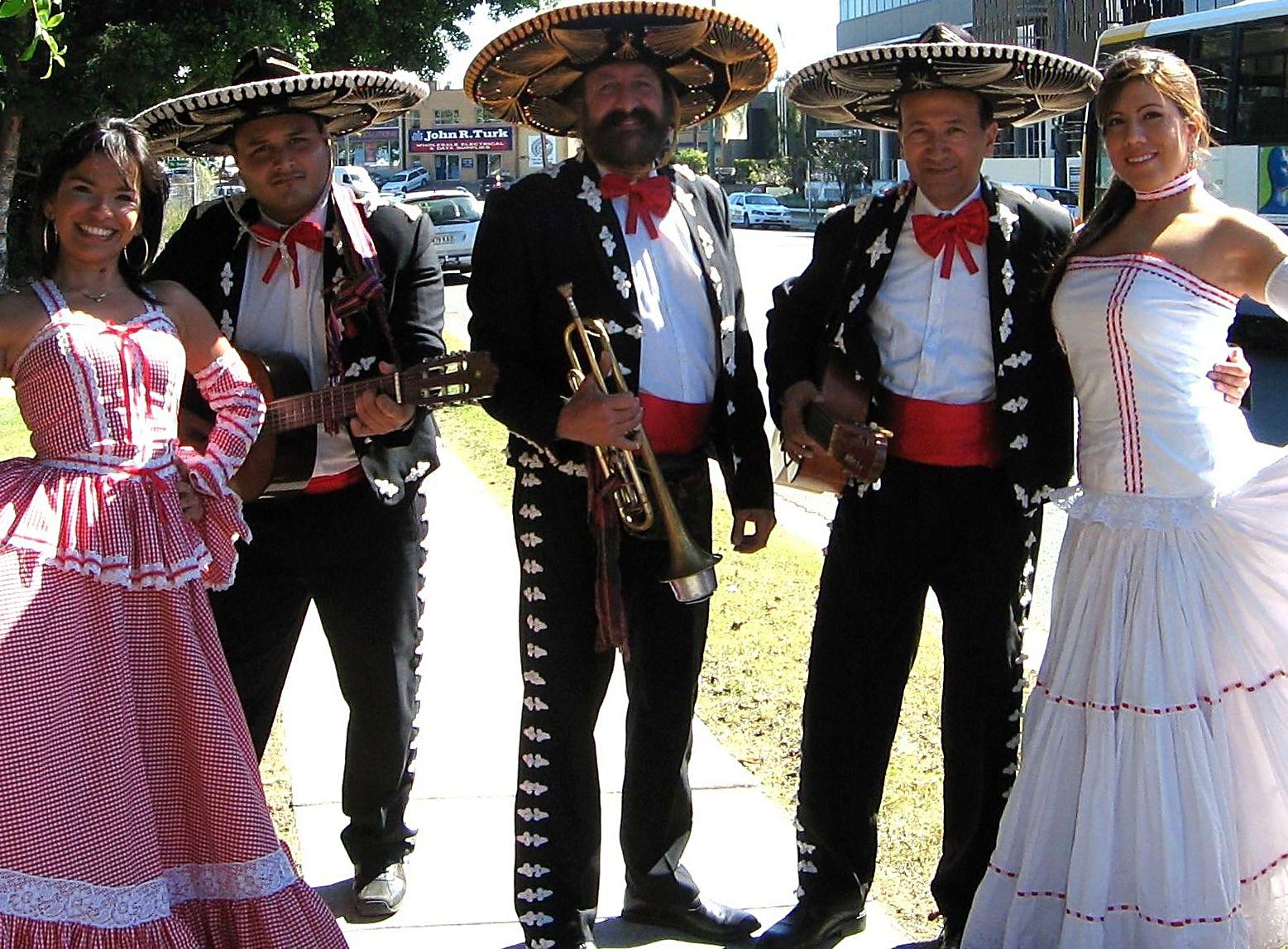 Mariachi + Dancers
